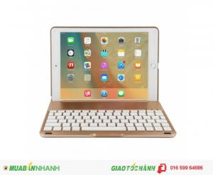 Bàn phím ốp lưng iPad Pro 9.7 Bluetooth cao cấp Phụ kiện cho bạn (Gold)