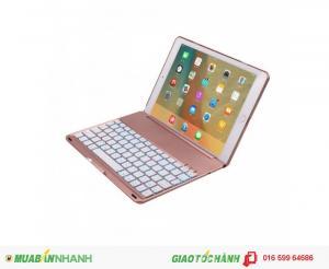 Bàn phím ốp lưng iPad Pro 9.7 Bluetooth cao cấp Phụ kiện cho bạn (Rose pink)