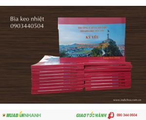 Nhận gia công đóng quyển keo nhiệt: Sách, tạp chí, giáo trình, bản thảo... giá rẻ tại Hà Nội