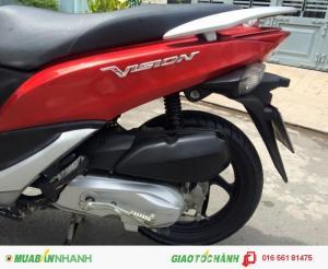 Honda Vision FI 2k13, màu đỏ, xe mới như xe thùng