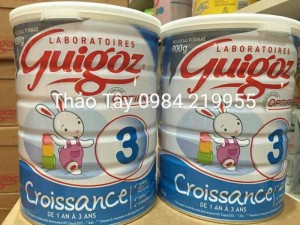 Sữa guigoz pháp từ 1-3t