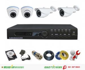 Lắp hệ thống camera giám sát chuẩn HD giá tốt nhất thị trường Bình Tân, Bình Chánh, Q6, Q11 HCM