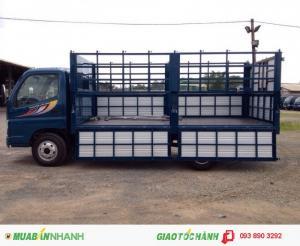 Xe tải Ollin 500B tải trọng 5 tấn thùng kín, thùng lửng, thùng mui bạt, bán trả góp