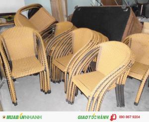 Thanh lý bàn ghế cafe giá rẻ nhất