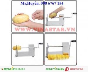 Máy cắt kho máy cắt khoai tây lốc xoáy, máy cắt khoai tây giá rẻ