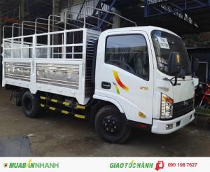 Xe tải veam vt252 tổng tải trọng dưới 5 tấn - xe chạy vào giờ cấm tải