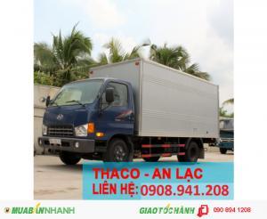 xe tải hyundai 5 tấn thùng kín