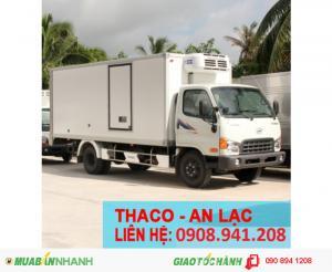 xe tải hyundai 5 tấn thùng đông lạnh
