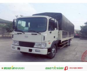 Xe tải Hyundai HD210 thùng mui bạt giá ưu đãi hỗ trợ 100%VAT, Hồ sơ giao ngay