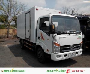 Xe tải veam vt252 2 tấn 4 tổng tải trọng dưới 5 tấn 5 - xe vào thành phố - thùng dài 4m1