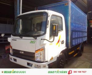 Xe tải veam vt252 2 tấn 4 tổng tải trọng xe dưới 5 tấn | xe vào thành phố -thùng dài 4m1