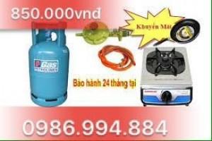 Combo 3 bộ bình bếp gas Sinh Viên giá rẻ