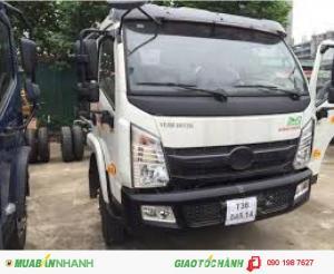 Xe tải veam vt751  7 tấn 5 động cơ hyundai - xe tải veam 7.5 tấn - thùng dài 6m2