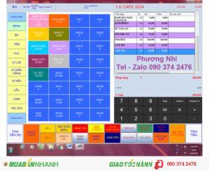 Phần mềm bán hàng cho Căn tin Khu công nghiệp, Quán Cafe