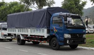 Veam tải 7,5 tấn, tặng 50 lít dầu thùng dài 6m1