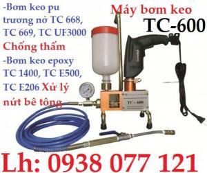 Máy bơm keo chống thấm TC 500 giá rẻ tại TPHCM, Bình Dương Đồng Nai, Vũng Tàu