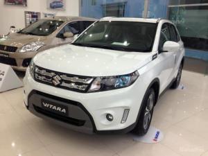 -Ngoài ra Vitara còn được trang bị cửa số trời PANORAMA Suzuki Vitara 2016 được trang bị động cơ 1,6, hộp số tự động 6 cấp