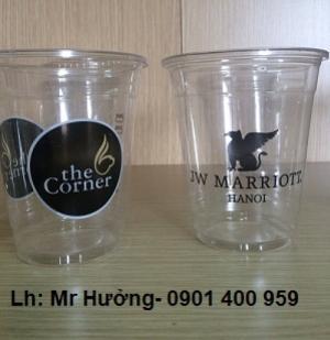 In logo- Nhận in logo- hình ảnh trên ly nhựa dùng một lần tại Hà Nội