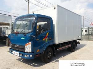 Xe tải veam vt252 2 tấn 4 xe chạy vào thành phố - xe tải veam 2 tấn 4 thùng dài 4m1