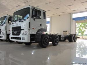 Đại lí phân phối độc quyền Hyundai HD320 thùng dài 9.6m