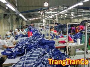 Xưởng May Gia Công Trang Trần - LH : 0989.691.693 - Nơi đáp ứng mọi yêu cầu may mặc của bạn từ sản xuất tới may gia công