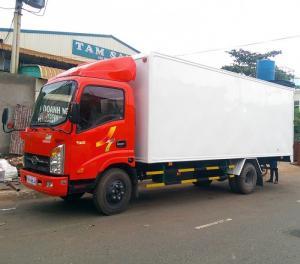 Xe tải veam vt260 1 tấn 9 - xe tải veam 1t9 động cơ hyundai thùng dài 6m2