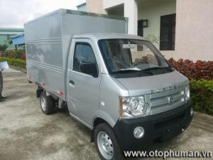 Xe tải dongben 870kg thùng kín / xe tải dongben 870 kg thùng mui bạt trả góp 85% lãi suất thấp