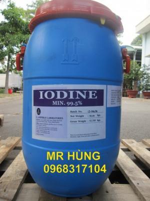 Lodine - 99% - Hạt, Iodine 99%, Hóa chất xử lý nước, I2, Iot, Iốt