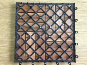 Sàn gỗ vỉ nhựa