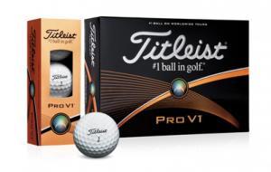 Banh đánh golf chính hãng Ttileist Pro V1