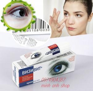 Giảm quầng thâm mắt, bọng mắt, tăng độ ẩm làm tươi mới vùng mắt. - Phục hồi, bảo vệ vùng da mắt khỏi các yếu tố bên ngoài, chống lão hóa ở mọi lứa tuổi. - Sản phẩm đã được kiểm chứng là sản phẩm an toàn dành cho vùng da mắt, làm tăng hiệu quả của việc chăm sóc và chống lão hóa lên đến 50%.  Bổ sung dinh dưỡng và giữ ẩm tuyệt vời - giàu chất dầu tự nhiên và vitamin cung cấp sự thoải mái hoàn hảo da 24 giờ. - Tổng hợp collagen - một sinh học chiết xuất tập trung dưỡng chất làm giảm nếp nhăn và làm săn chắc những đường nét vùng da mắt, để lại làn da hoàn hảo mịn màng và đàn hồi tốt. - Làn da dưới vùng mắt được chăm sóc trắng sáng, khỏe mạnh. - Net: 15ml.