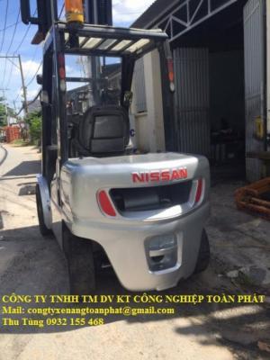 Bán Xe Nâng Hàng Nissan 3 Tấn Giá Rẻ