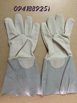 Găng tay bảo hộ cho thợ hàn tốt nhất, găng tay da cho hàn tig/mag giá tốt nhất,