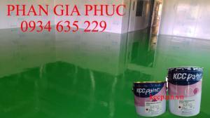 Đại lý cấp 1 sơn epoxy kcc rẻ nhất Bình Thuận,Thi công sơn nền epoxy nhà xưởng giá rẻ Bình Thuận