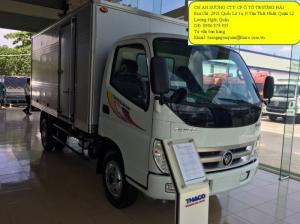 Xe tải thaco ollin 500B thùng dài 4m2