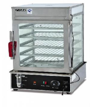 Tủ hấp nóng bánh bao CHZ-500, tủ trưng bày bánh bao, tủ giữ nóng bánh bao