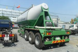 Rơ moóc Doosung chở xi măng rời 33 tấn, giao xe toàn Quốc