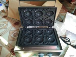 Máy làm bánh waffle, máy làm bánh waffle hình ngô,máy làm bánh waffle hình vuông
