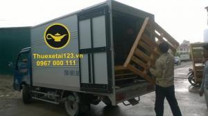 Taxi tải cánh tay phải của dịch vụ chuyển nhà, chuyển văn phòng