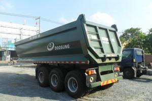 Tổng đại lý phân phối moóc ben Doosung 24 khối chính hãng, giá chỉ 530 triệu