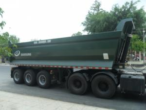 Bán Mooc ben tải trọng Cao 29 tấn, Mooc Ben Doosung 24 m3