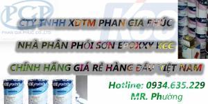 Đại lý cấp 1 sơn epoxy kcc giá rẻ tại hà nội, hải dương, thi công sơn epoxy giá rẻ miền bắc