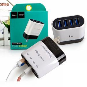 Sạc Nhanh Chính Hãng Hoco 4 Cổng USB