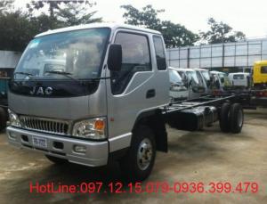 Xe tải JAC 2.6 tấn thùng 3.7 m