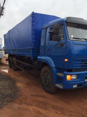 Xe tải thùng Kamaz 65117 15 tấn 6x4 thùng dài 7.8m nhập khẩu Nga