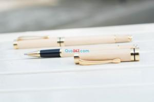Bút gỗ 05 gỗ tự nhiên cao cấp khắc tên quà tặng ý nghĩa giá cực hot