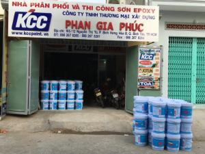 Mua Sơn Epoxy Kcc Dành Cho Nền Sàn Nhà Xưỡng