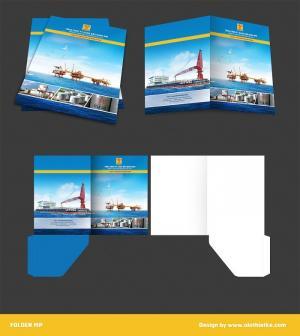 Thiết kế folder đẹp chuyên nghiệp