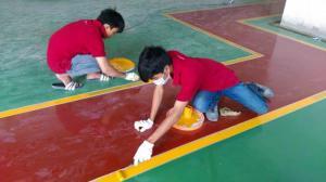 Nhận thi công sơn sàn Epoxy Kcc cho nền nhà xưỡng giá rẻ nhất