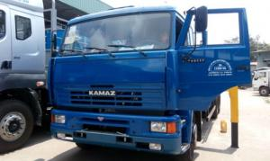 Đại lý xe Kamaz Việt Nam, Bán xe tải thùng Kamaz 65117 15 tấn, nhập khẩu 2016